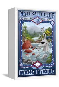Naturally Blue Arkansas Democrats by Richard Kelly