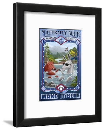 Naturally Blue Arkansas Democrats