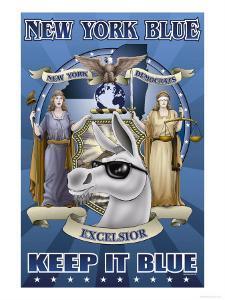 New York Blue, Keep It Blue by Richard Kelly