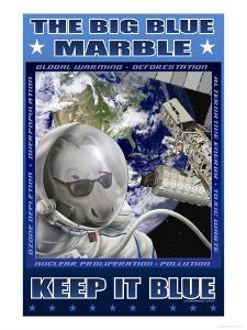 The Big Blue Marble by Richard Kelly