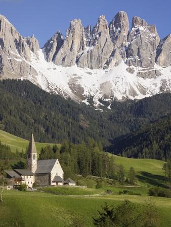 St. Maddalena Church in Val di Funes