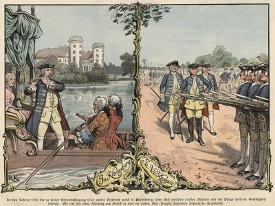 Crown Prince Frederick of Prussia at Rheinsberg and Neuruppin
