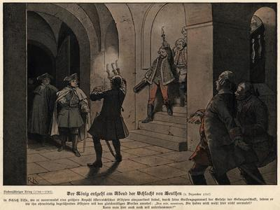 Frederick the Great of Prussia on the Evening after the Battle of Leuthen