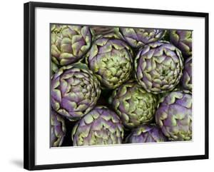 Artichokes for Sale at Market at Campo De' Fiori by Richard l'Anson