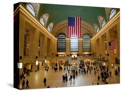 Interior Of Grand Central Terminus By Richard Lu0027Anson
