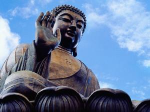 Tian Tan Buddha by Richard l'Anson