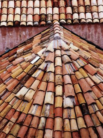 Tiled Roof Detail in Old Town