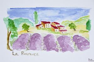 Lavender fields, Abbaye de Senanque, Provence, France by Richard Lawrence