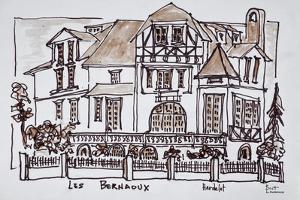 Les Bernaoux, Neufchatel Hardelot, France by Richard Lawrence