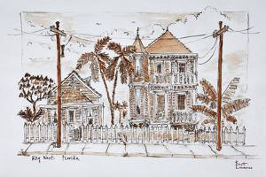 Victorian style 'Conch houses,' Key West, Florida by Richard Lawrence