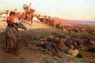 Custer's Last Stand, c.1914 by Richard Lorenz