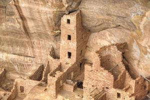 Anasazi Ruins, Square Tower House, Dating from Between 600 Ad and 1300 Ad by Richard Maschmeyer