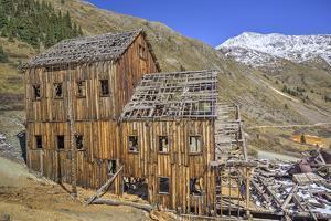 Animas Forks Mine Ruins, Animas Forks, Colorado, United States of America, North America by Richard Maschmeyer
