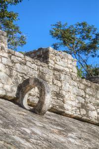 Ball Court, Coba Mayan Ruins, Quintana Roo, Mexico, North America by Richard Maschmeyer