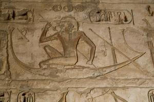 Bas-Reliefs, Medinet Habu (Mortuary Temple of Ramses Iii), West Bank by Richard Maschmeyer