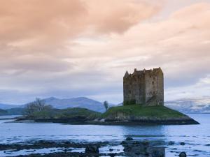 Castle Stalker, Near Port Appin, Argyll, Highlands, Scotland, United Kingdom, Europe by Richard Maschmeyer