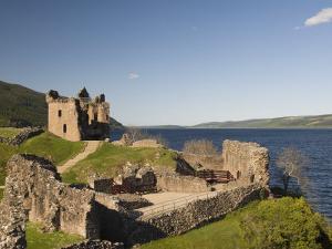 Castle Urquhart. Loch Ness, Highlands, Scotland, United Kingdom, Europe by Richard Maschmeyer