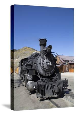 Durango and Silverton Narrow Gauge Railroad, Silverton, Colorado, Usa