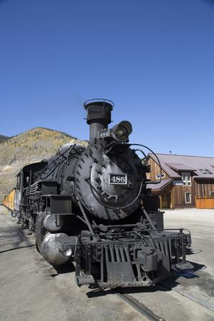 Durango and Silverton Narrow Gauge Railroad, Silverton, Colorado, Usa