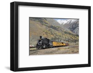 Durango and Silverton Narrow Gauge Railroad, Silverton, Colorado, Usa by Richard Maschmeyer
