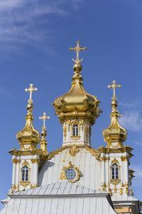 East Chapel, Peterhof, UNESCO World Heritage Site, near St. Petersburg, Russia, Europe by Richard Maschmeyer
