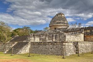 El Caracol (The Snail), Observatory, Chichen Itza, Yucatan, Mexico, North America by Richard Maschmeyer