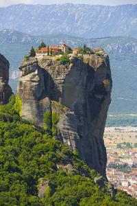 Holy Monastery of Holy Trinity, Meteora, Thessaly, Greece by Richard Maschmeyer