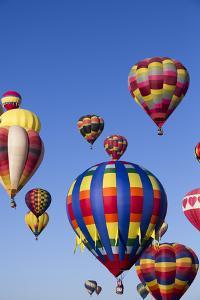 Hot Air Balloons, 2015 Balloon Fiestas, Albuquerque, New Mexico, United States of America by Richard Maschmeyer