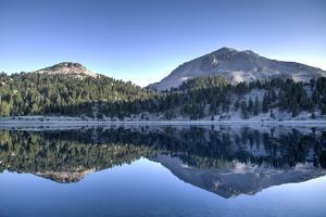 Lake Helen and Mount Lassen by Richard Maschmeyer