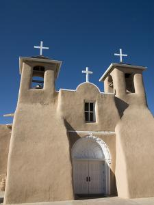 Old Mission of St. Francis De Assisi, Ranchos De Taos, New Mexico, United States of America, North by Richard Maschmeyer
