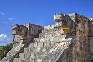 Platform of the Eagles and Jaguars, Chichen Itza, Yucatan, Mexico, North America by Richard Maschmeyer