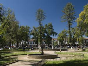 Plaza Vasco De Quiroga, Patzcuaro, Michoacan, Mexico, North America by Richard Maschmeyer
