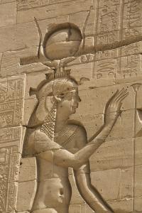 Relief Depicting the Goddess Hathor by Richard Maschmeyer