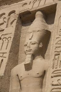 Rock-Hewn Statue of Ramses Ii by Richard Maschmeyer