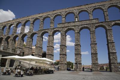 Roman Aqueduct, Segovia, UNESCO World Heritage Site, Castile y Leon, Spain, Europe by Richard Maschmeyer