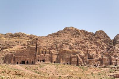 Royal Tombs, Petra, Jordan, Middle East by Richard Maschmeyer