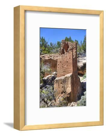 Ruins of Ancestral Puebloans, Square Tower, Dating from Between 900 Ad and 1200 Ad