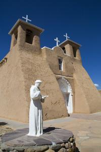 San Francisco De Asis Mission Church, New Mexico by Richard Maschmeyer
