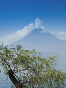 San Pedro Volcano, Lake Atitlan, Guatemala, Central America by Richard Maschmeyer
