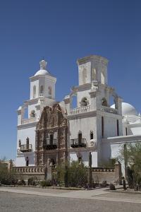 San Xavier Del Bac Mission by Richard Maschmeyer