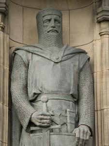 Statue of Sir William Wallace at Entrance to Edinburgh Castle, Edinburgh, Scotland, United Kingdom by Richard Maschmeyer