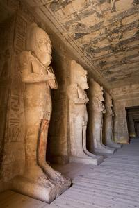 Statues of Ramses in the Osiris Postion by Richard Maschmeyer