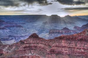 Sunrise at Mather Point, South Rim, Grand Canyon National Park, UNESCO World Heritage Site, Arizona by Richard Maschmeyer