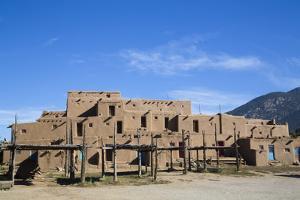 Taos Pueblo, Pueblo Dates to 1000 Ad, New Mexico, United States of America, North America by Richard Maschmeyer