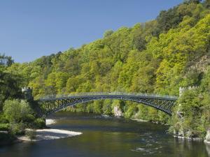 Telford Iron Bridge, Built in 1815, across the River Spey, Scotland, United Kingdom, Europe by Richard Maschmeyer