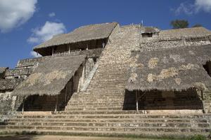 The Acropolis, Ek Balam, Mayan Archaeological Site, Yucatan, Mexico, North America by Richard Maschmeyer