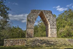 The Arch, Kabah Archaeological Site, Yucatan, Mexico, North America by Richard Maschmeyer
