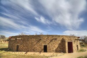 The Great Kiva, Aztec Ruins National Monument, UNESCO World Heritage Site by Richard Maschmeyer