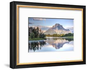 Water Reflection of Mount Moran by Richard Maschmeyer