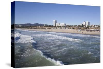 Waves at Santa Monica State Beach, Santa Monica, California, United States of America